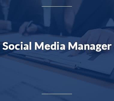 Sales Manager Social Media Manager
