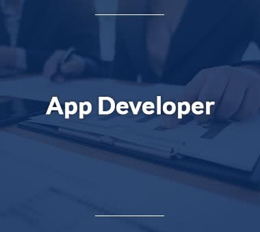 App Developer Fachinformatiker