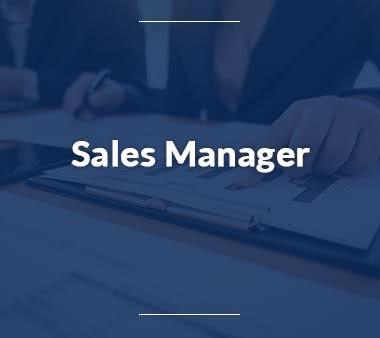 Rechtsanwaltsfachangestellte Sales Manager