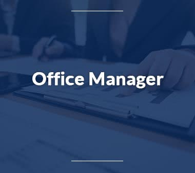 Business Analyst Office Manager