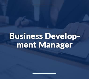 Business Consultant Business Development Manager