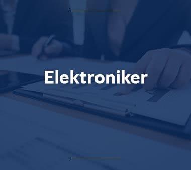 Anlagenmechaniker Elektroniker