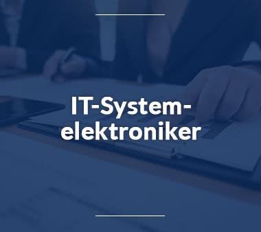 Elektroniker IT-Systemelektroniker