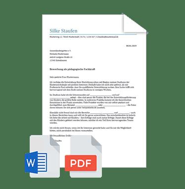 Bewerbungsschreiben Praktikum Muster Vorlage