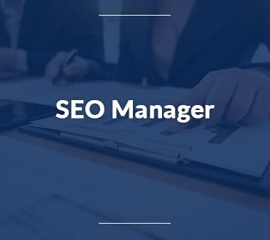 Mediaplaner SEO Manager