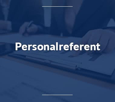 Referent Personalreferent