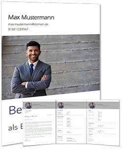 Lebenslauf Vorlage OpenOffice 2 Vorschau komplett
