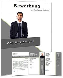 Lebenslauf Vorlage modern job 3 Vorschau komplett