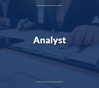Analyst IT-Berufe