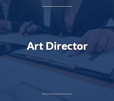 Art Director Kreative Berufe