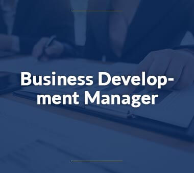 Business Development Manager Kreative Berufe
