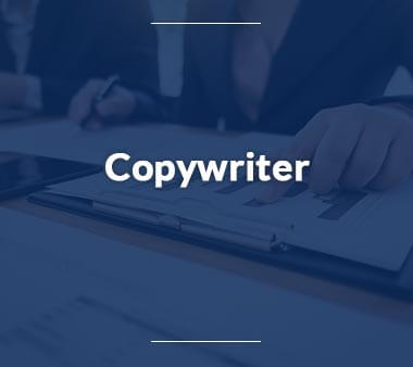 Copywriter Bürojobs