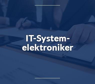 IT-Systemelektroniker Technische Berufe
