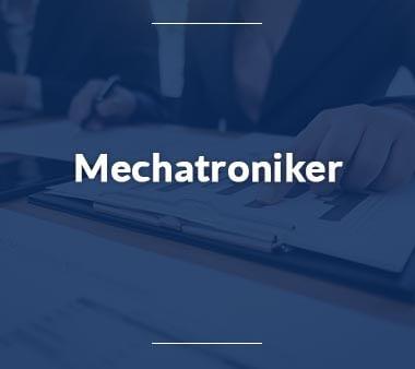 Mechatroniker Technische Berufe