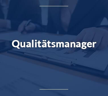 Qualitätsmanager Bestbezahlte Berufe