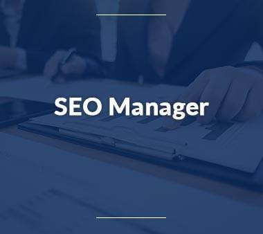 SEO Manager Bürojobs