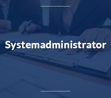 Systemadministrator IT-Berufe