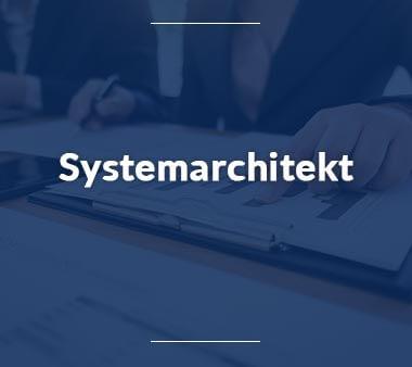 Systemarchitekt Technische Berufe
