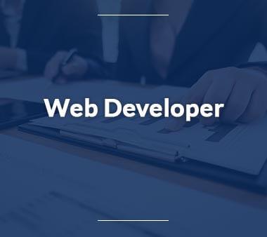 Web-Developer Technische Berufe