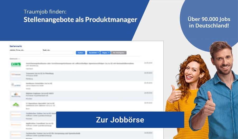 Produktmanager Stellenangebote
