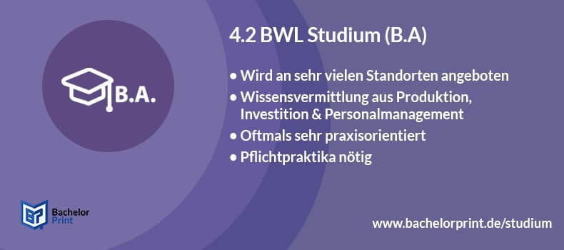 Bwl Bachelor Of Arts Oder Science