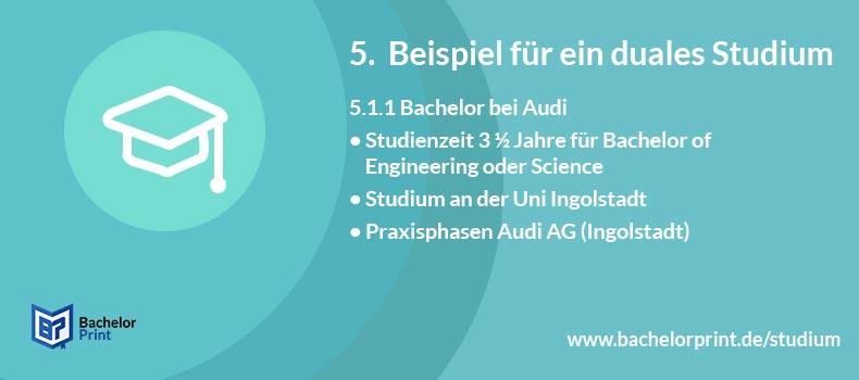 Duales Studium Bachelor Audi