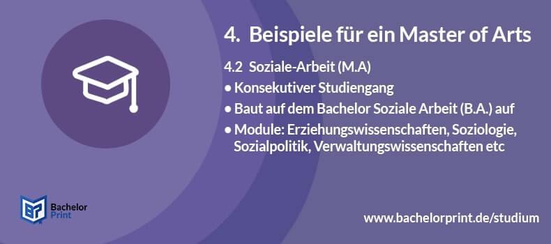 Master of Arts Studium Soziale Arbeit