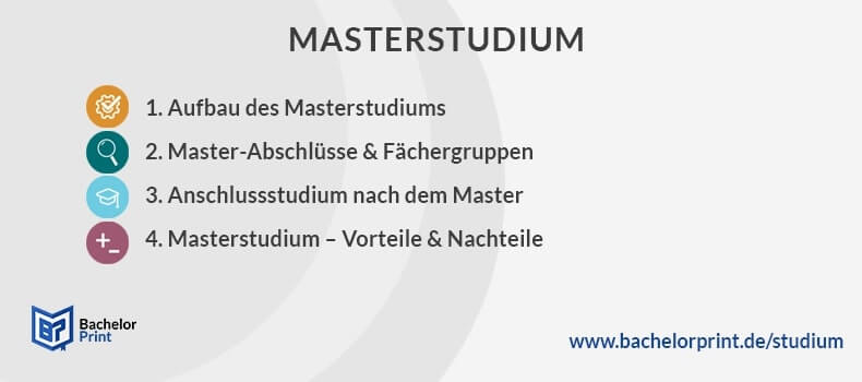 Masterstudium Überblick Infos