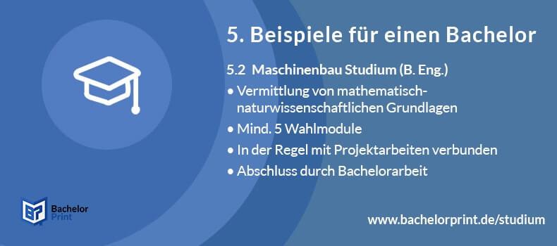Bachelor of Engineering Studium Module