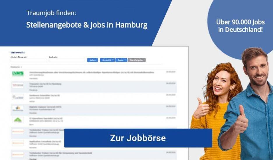Jobs in Hamburg Stellenanzeigen