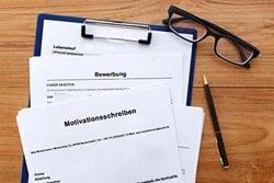 Motivationsschreiben Job Bewerbung