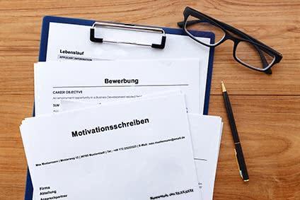 Bewerbungsunterlagen Motivationsschreiben